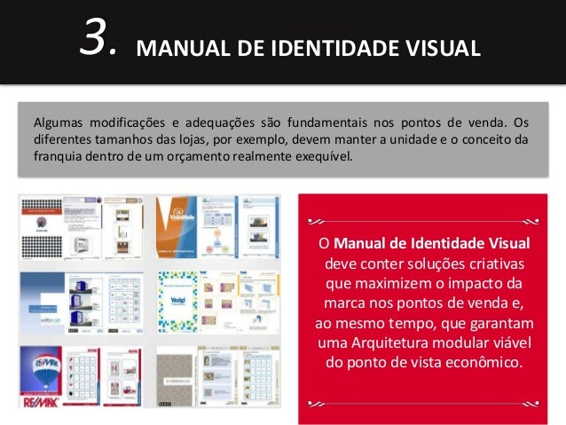 3. MANUAL DE IDENTIDADE VISUAL  Algumas modificações e adequações são fundamentais nos pontos de venda. Os  diferentes tam...