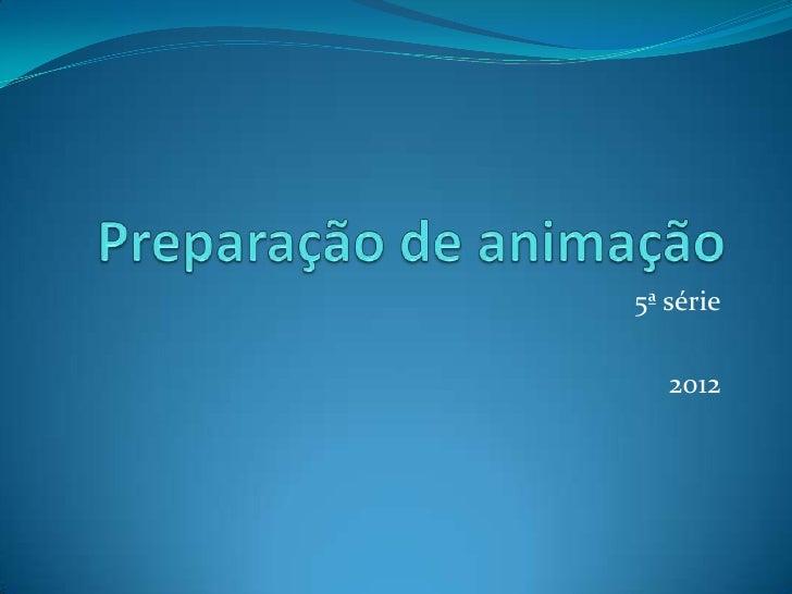 5ª série   2012