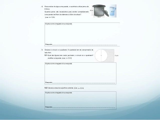 !!!! 2 4. Para encher de água uma panela, o cozinheiro utiliza jarros de 6 litros. Quantos jarros são necessários para enc...