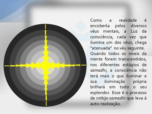 Como       a   realidade    éencoberta pelos diversosvéus mentais, a Luz daconsciência, cada vez queilumina um dos véus, c...