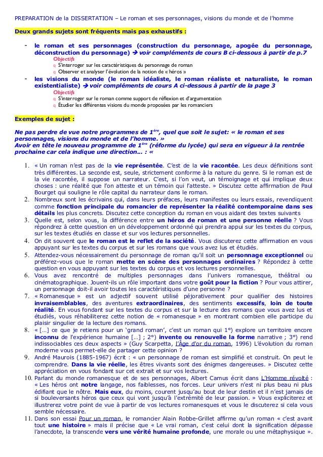 lassommoir dissertation seconde
