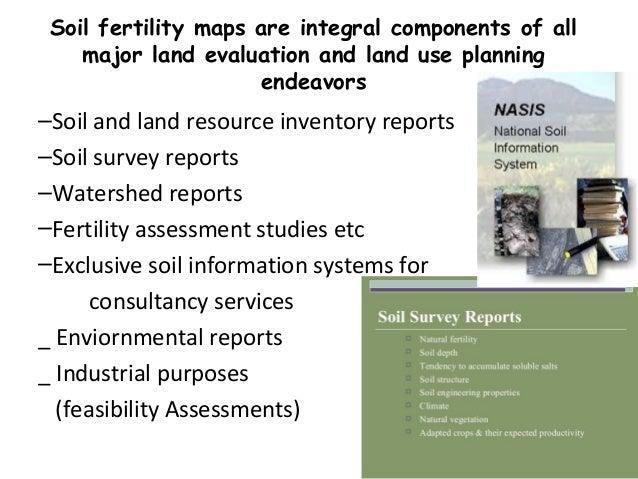 Preparation of soil fertility maps for Preparation of soil
