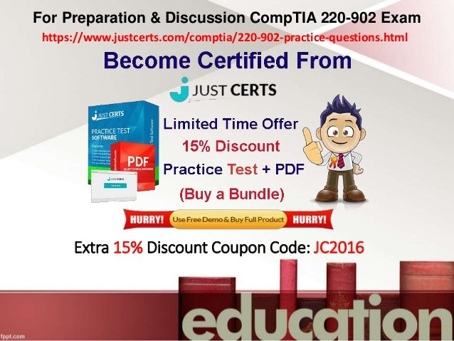 Preparation 220 902 exam dumps comptia a certification answer c 11 fandeluxe Images