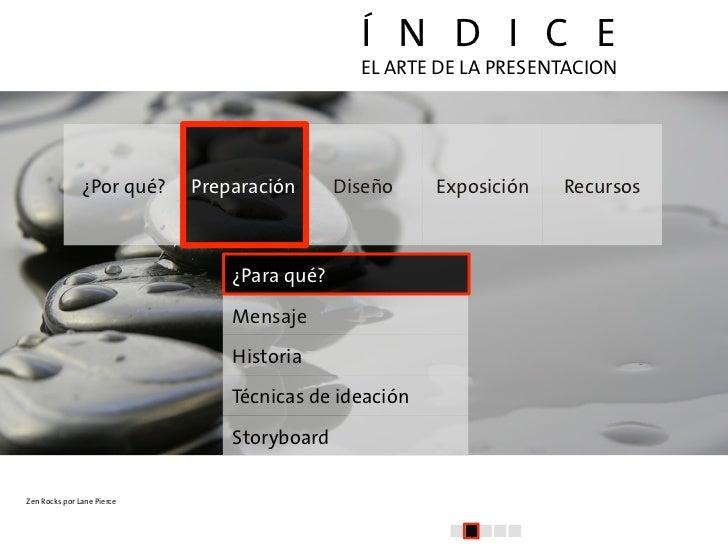 El arte de la presentacion (II): Preparación y Estructura Slide 2