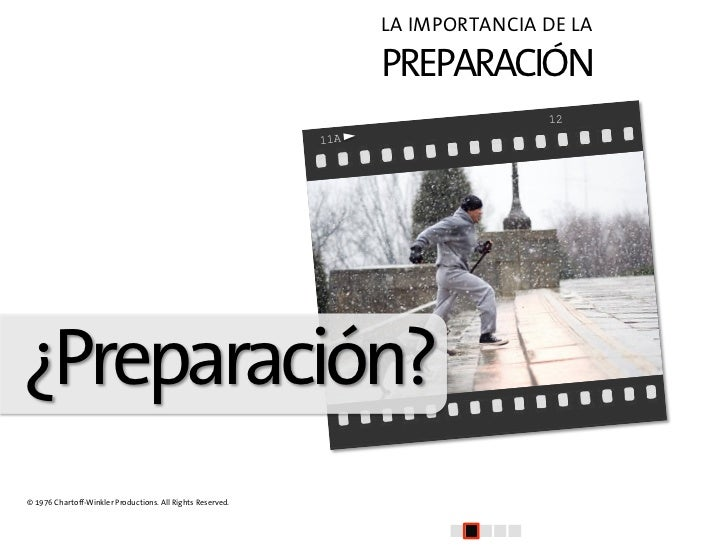 El arte de la presentacion (II): Preparación y Estructura Slide 3