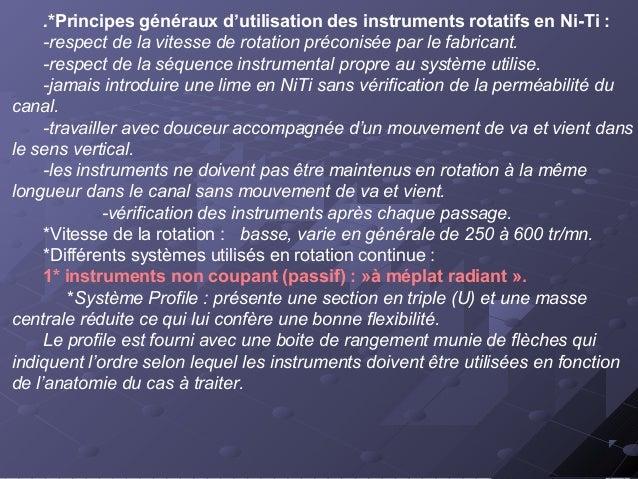 Les instruments Profile (de haut en bas ,les profile os,6%,4%,et 2%) Profile organiseur