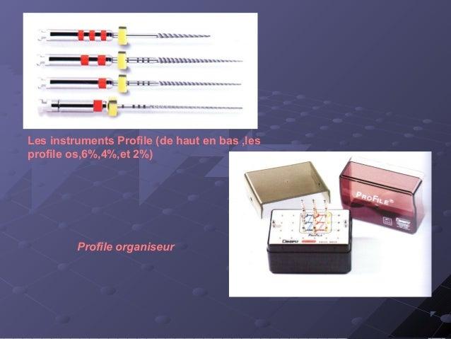 *Système Quantec : présente une section asymétrique avec un angle de coupe plus actif que le profile. *Système k3 : c'est ...
