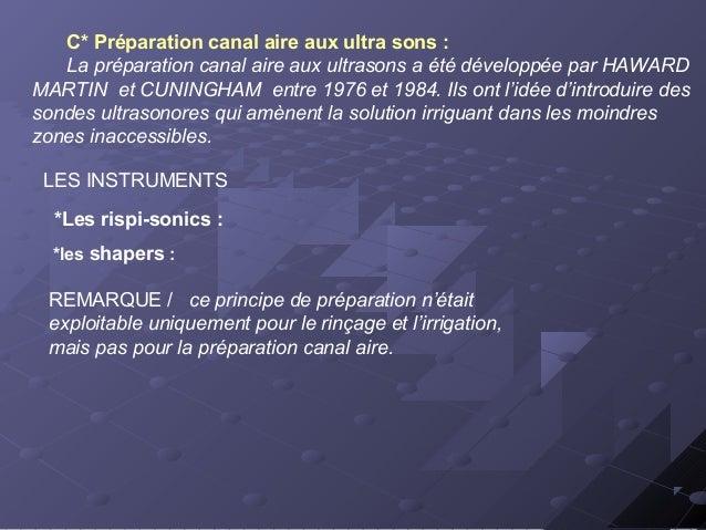 LES ERREURS DE LA PREPARATION EN ROTATION CONTINUE 1*Formation du bouchon