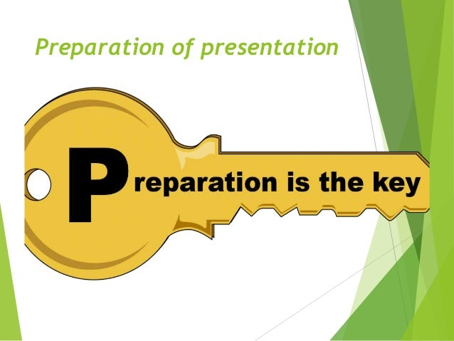 how to prepare for presentation