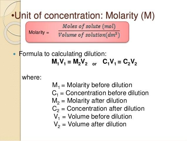 concentration chemistry formula - Monza berglauf-verband com