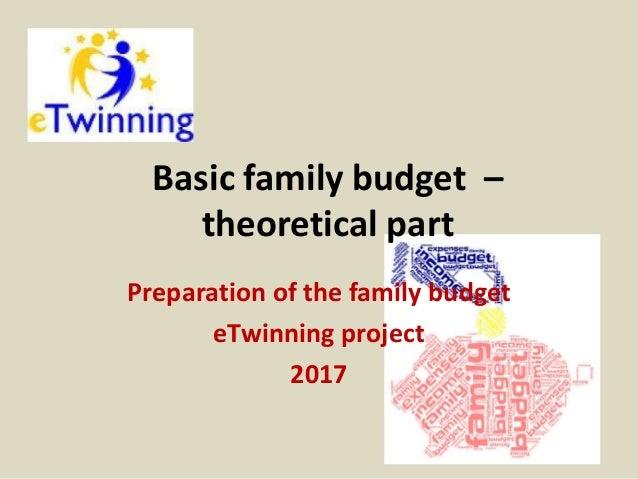 basic family budget