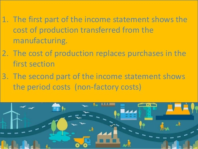 Preparation of trading profit and loss of a manufacturer – Preparing a Profit and Loss Statement