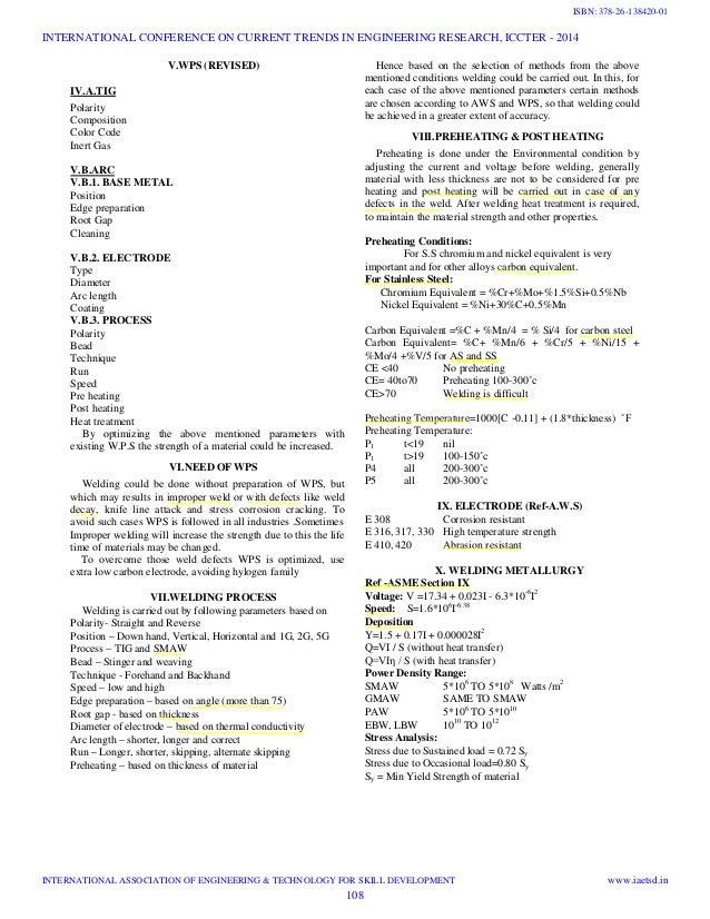 how to prepare welding procedure specification