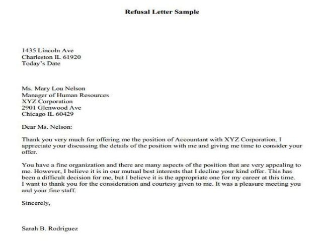 Different Types Of Business Letters Explain With Example