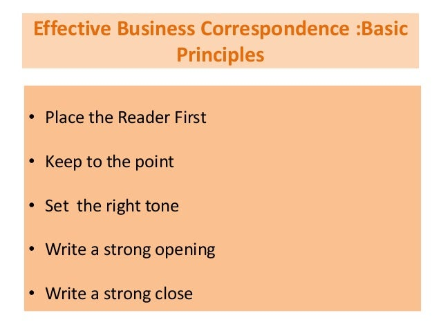 """tone of business correspondence But knowing how to fashion an interesting and intelligent sentence is essential to communicating effectively, winning business, and setting yourself apart """"as."""