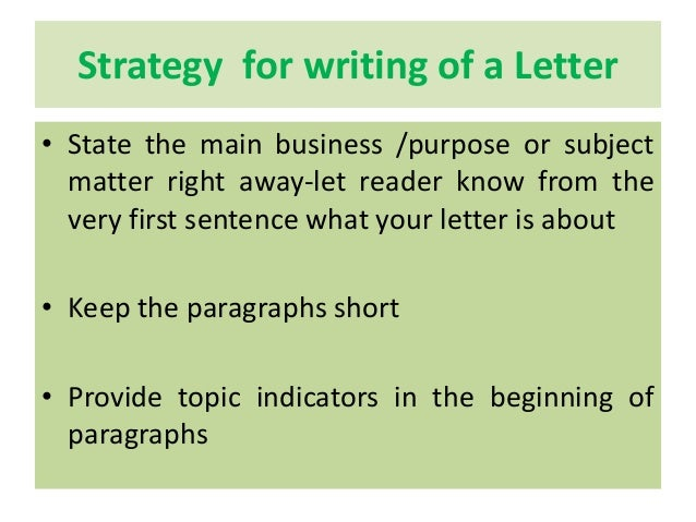 Prepare A Note On Business Correspondence And Strategies Required For…