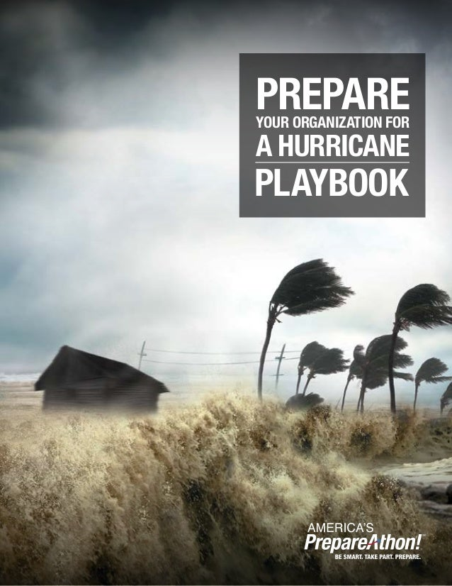 PREPAREYOUR ORGANIZATION FOR A HURRICANE PLAYBOOK
