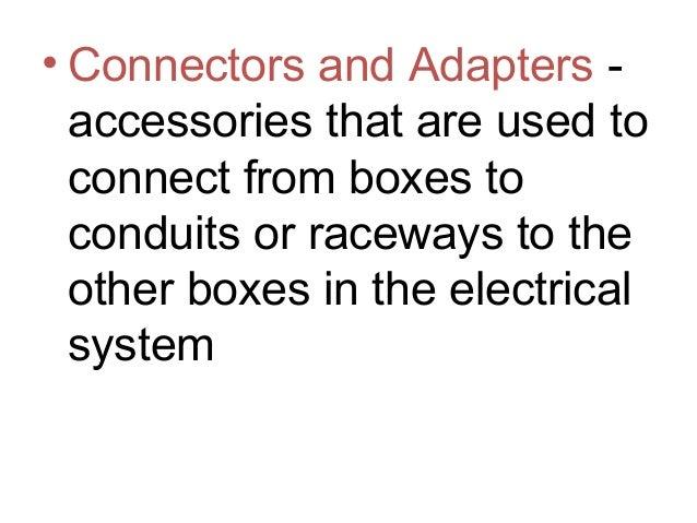 prepare electrical supplies 2