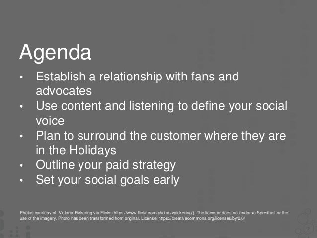 How To Prepare Your Social Programs For Christmas - NOW! Slide 2