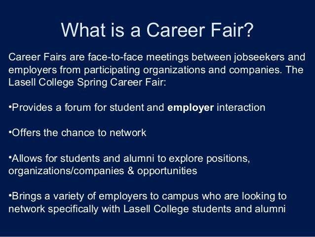 how to prepare for career fair
