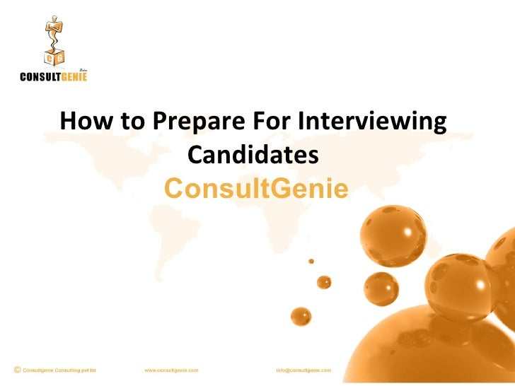 How to Prepare For Interviewing Candidates   ConsultGenie