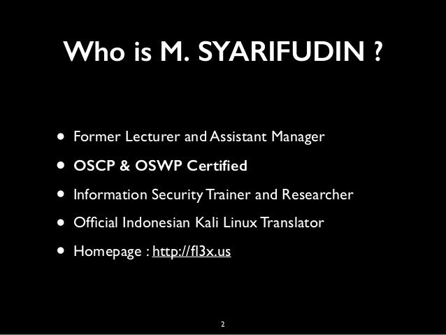 Prepare Yourself to Become Infosec Professional Slide 2