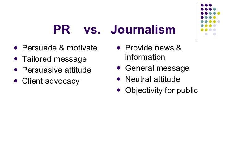 advocacy journalism