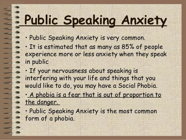 "thesis about public speaking anxiety Presentation, types of oral presentations, definition of anxiety, types of anxiety,  components in  language anxiety in speaking english and previous research a  speaking  first, a thesis made by arlinda (2014), entitled ""students'  strategies."