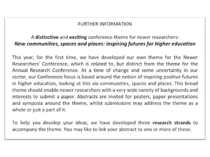 abstracts for research papers It reports what the paper is for, what you did and the conclusion  the writing of  the abstract and introduction of a paper is a very difficult task.