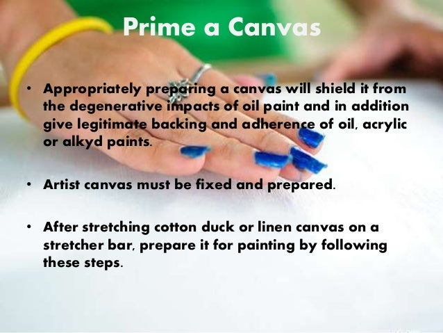 How To Prepare Canvas For Acrylic Painting