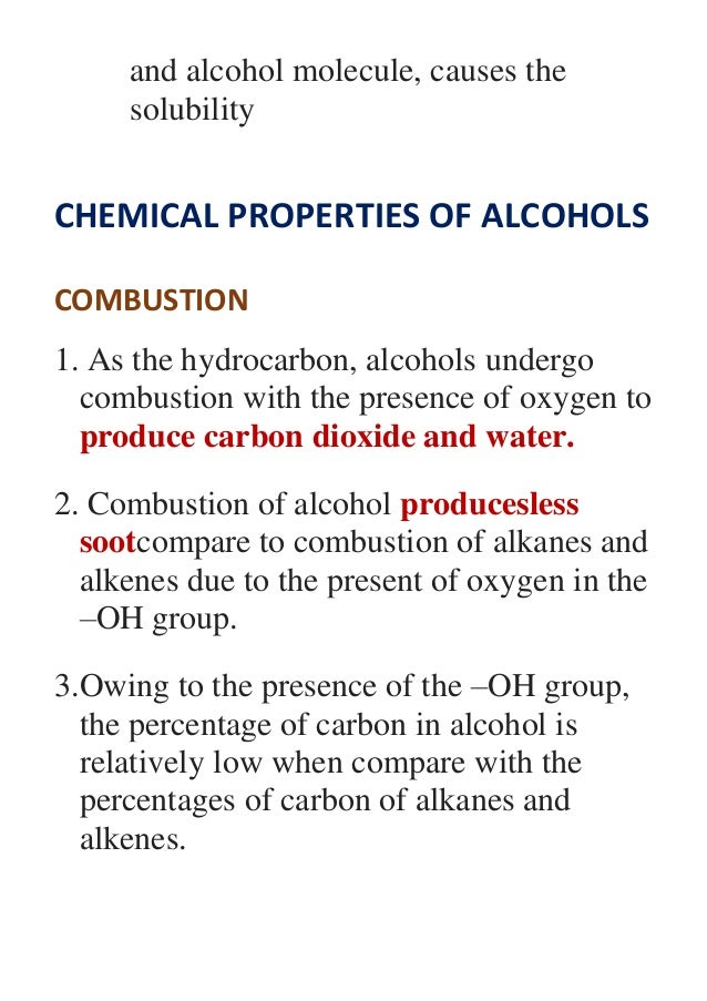 properties of alcohol A fact sheet that summarizes the evidence linking alcohol consumption to the risk of  such as resveratrol, have anticancer properties  grapes.