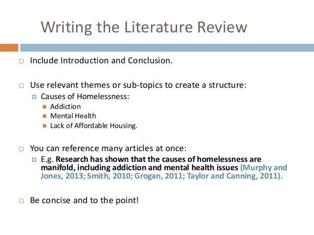 uefap literature review
