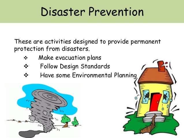 Prevention Of Natural Disasters