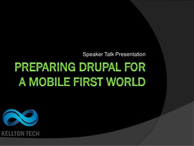 Speaker Talk Presentation