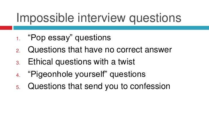 types of job interviews essay