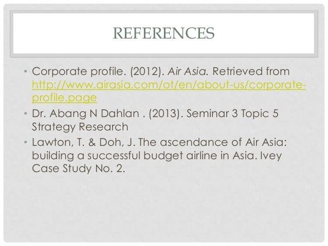 the ascendance of airasia building a successful budget airline in asia Please find below the full details of the product you clicked a link to view the ascendance of airasia: building a successful budget airline in asia teaching note.