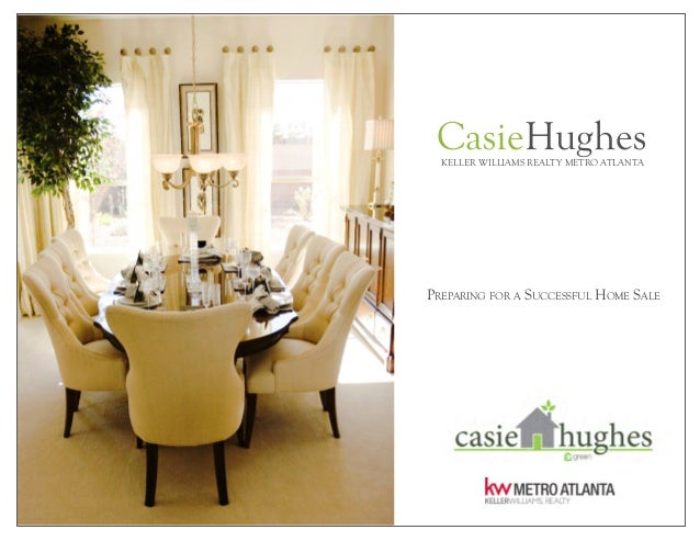 CasieHughesKELLER WILLIAMS REALTY METRO ATLANTA PREPARING FOR A SUCCESSFUL HOME SALE