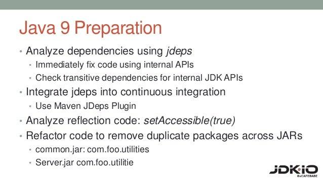 Preparing for java 9 modules upload
