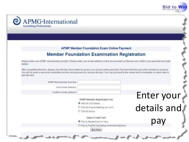 APMP Foundation: Preparing for the APMP Foundation Exam