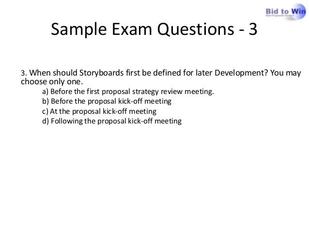 Apmp foundation preparing for the apmp foundation exam sample exam questions yadclub Choice Image