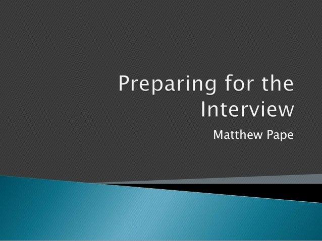 Matthew Pape
