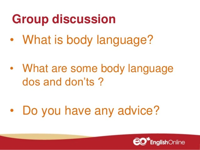 introductions 5 what is body language - Preparing For A Job Interview Body Language