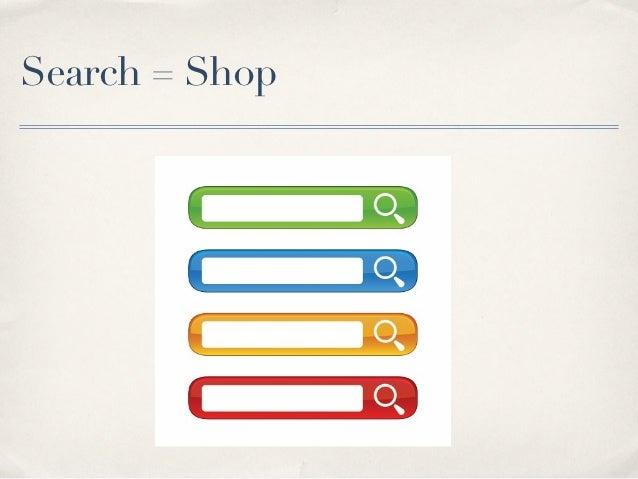 Search = Shop