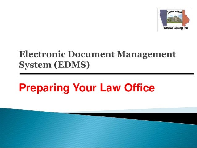 Preparing Your Law Office