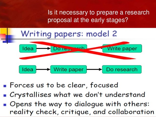 preparing a research proposal When my partner and i prepare a webinar, inevitably based on apple's keynote slides delivered via citrix's gotowebinar, we'll spend about 80 hours preparing it about a third of that time is collecting the material, another a third is invested in creating the slides, and the remaining third is spent rehearsing.