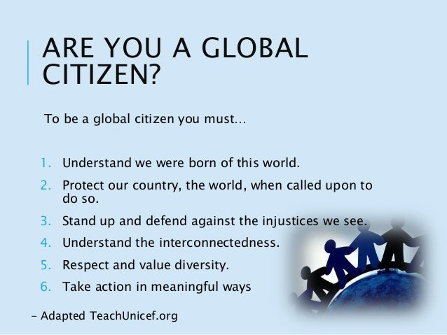 How to register as a World Citizen
