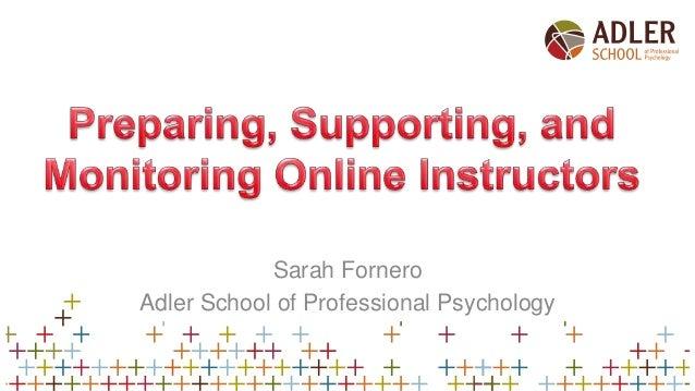Sarah Fornero Adler School of Professional Psychology