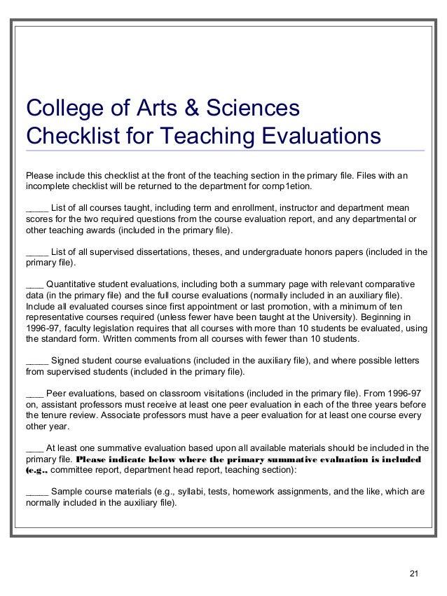 PhD Checklist