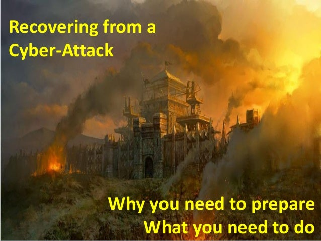 Recovering from a Cyber-Attack  © Copyright, Risk Masters, Inc. 2013. All rights reserved.  Why you need to prepare What y...