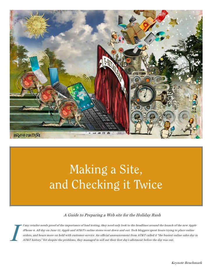 Making a Site,                        and Checking it Twice                                   A Guide to Preparing a Web s...